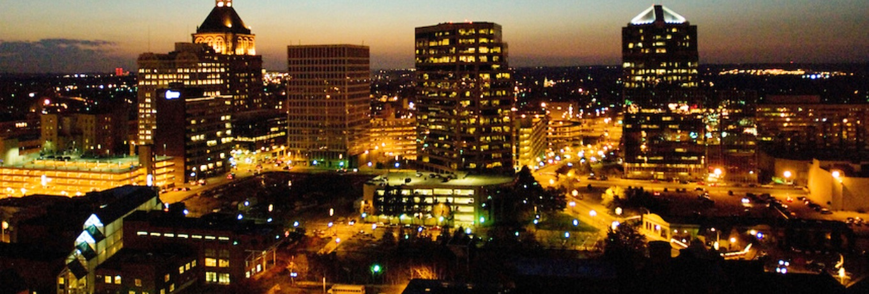 Greensboro NC Skyline